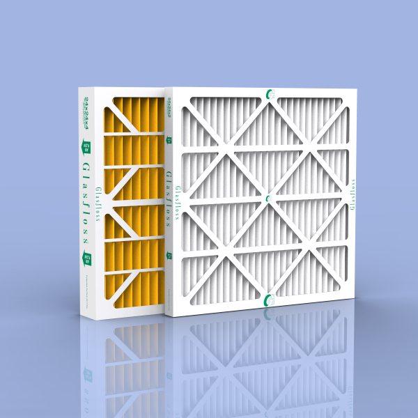 Glasfloss Industries ZLP16161 Z-Line Series ZL MERV 10 Pleated Filter Case of 12